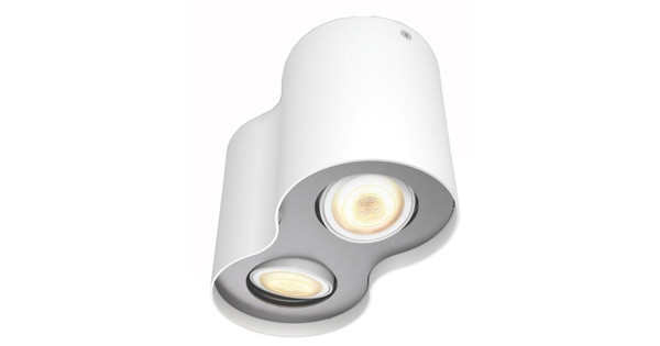 Philips Hue Pillar 2-Spot Wit met Dimmer