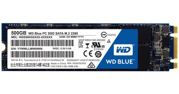 WD Blue SSD 500 GB M.2