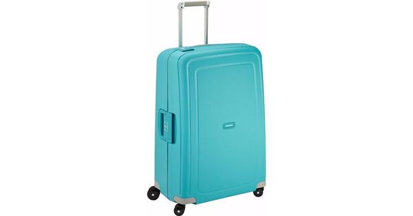 18cf6870477 Samsonite S'Cure Spinner 75cm Aqua Blue - Coolblue - Voor 23.59u, morgen in  huis