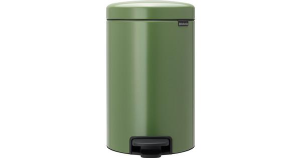Brabantia NewIcon Pedaalemmer 12 Liter Groen - Coolblue - alles voor ...