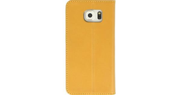 Valenta Booklet Classic Style Samsung Galaxy S6 Geel