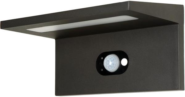 Lucide TI SOLAR LED Wandlamp Zwart