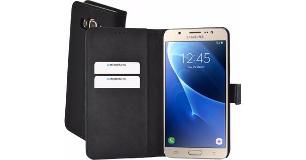 Mobiparts Premium Wallet Case Samsung Galaxy J7 (2016) Zwart