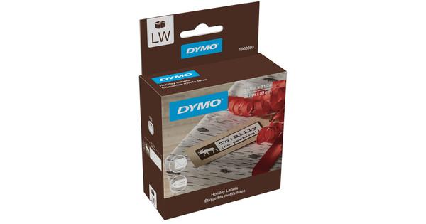 DYMO Kerstlabels LE Eland (28 mm x 89 mm)