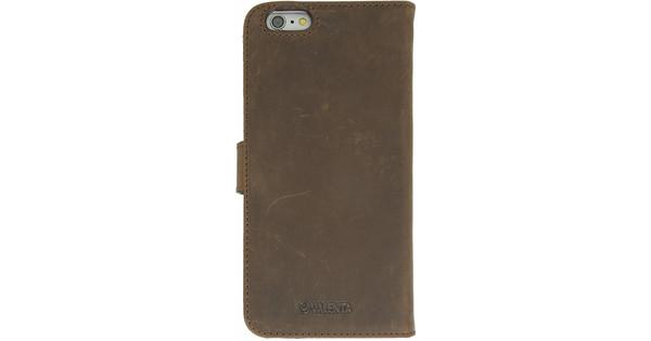 Valenta Booklet Raw Vintage Apple iPhone 6 Plus/6S Plus Brown