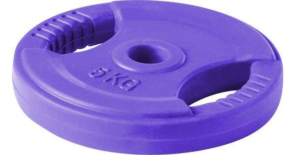 Lifemaxx Body Pump Disc 10 kg Purple