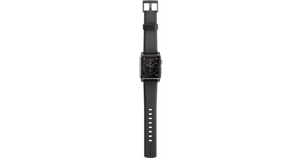 Nomad Apple Watch 42mm Siliconen Polsband Black
