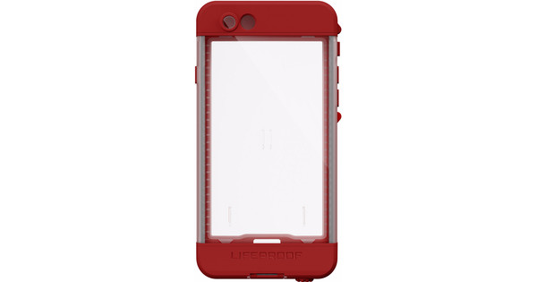 the best attitude df8f8 a44ba Lifeproof Nuud Apple iPhone 6s Red