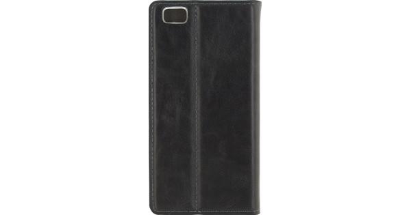 Mobilize Premium Gelly Wallet Book Case Huawei P8 Lite Zwart