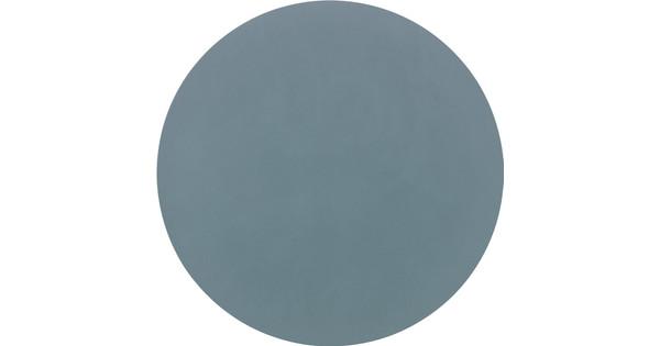 LIND DNA placemat Circle XL Nupo Licht Blauw 40 cm