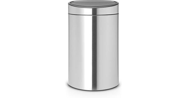 Duo Afvalbak 40 Liter Brabantia.Brabantia Touch Bin Recycle 10 23 Liter Matt Steel Fpp