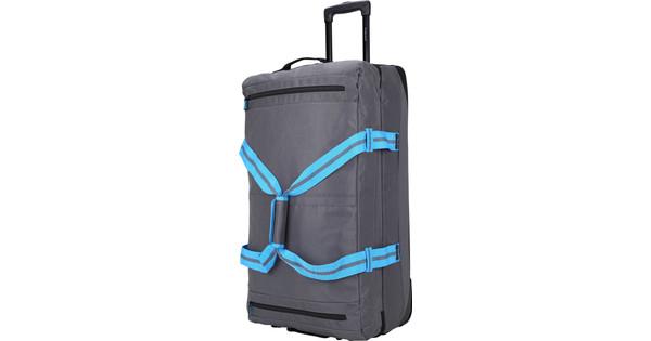 Decent Sport-Line Trolley Suitcase 78cm Gray/Cobalt Blue
