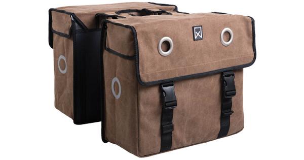 Willex Canvas Double Bag 67l Brown