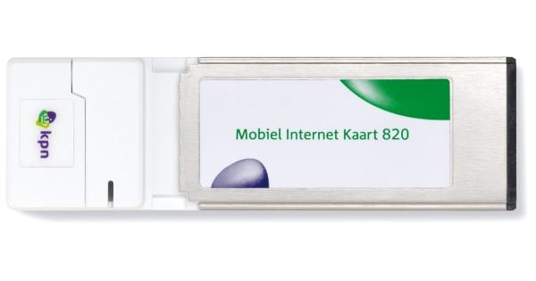 KPN MOBIEL INTERNET KAART 820 DRIVER FOR WINDOWS 7