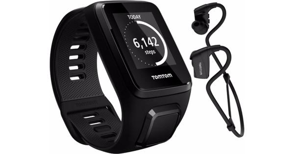 TomTom Spark 3 Music + Headphones Black - L