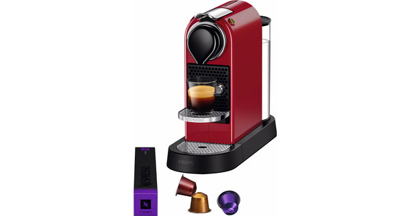Krups Nespresso Citiz Cherry Red XN7405NL
