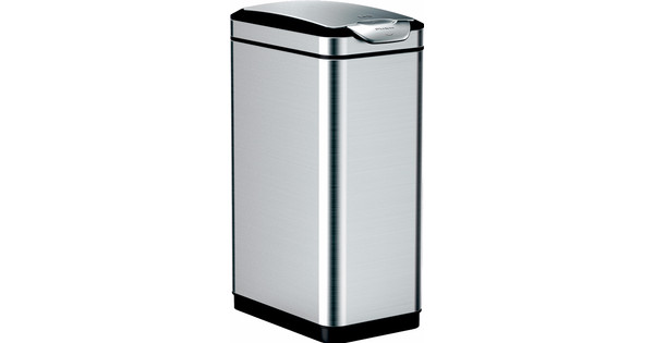 Touch Bin Sluiting.Eko Tina Touch Bin 30l Rvs Coolblue Voor 23 59u Morgen In Huis