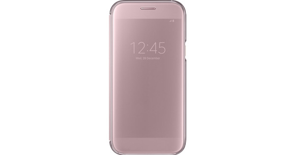 Samsung Galaxy A5 (2017) Clear View Cover Pink