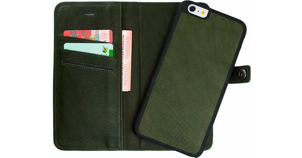 separation shoes e4d4b b666b iMoshion Nubra Apple iPhone 6 Plus / 6s Plus 2 in 1 Wallet Case Green