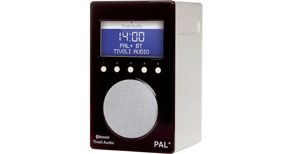 Tivoli Audio PAL+ Bluetooth Zwart