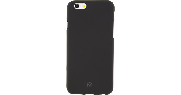 Mobilize Rubber Gelly Case Apple iPhone 6/6s Back Cover Zwart