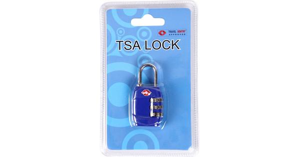 Adventure Bags TSA Slot Blauw