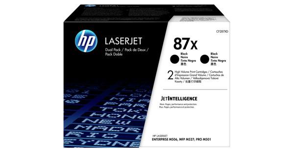 HP 87X Toner Black XL Duo Pack (CF287XD)