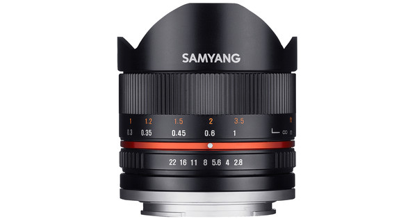 Samyang 8mm f/2.8 Fisheye Fujifilm Black
