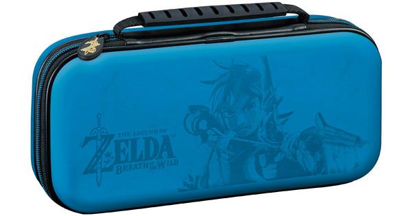 Bigben Nintendo Switch Travel Case Zelda Blue