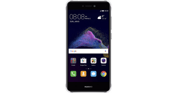 Huawei P8 Lite (2017) PC Back Cover Transparent