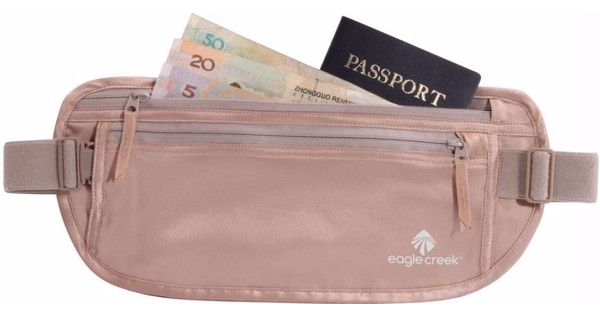 Eagle Creek Silk Undercover Money Belt Rose