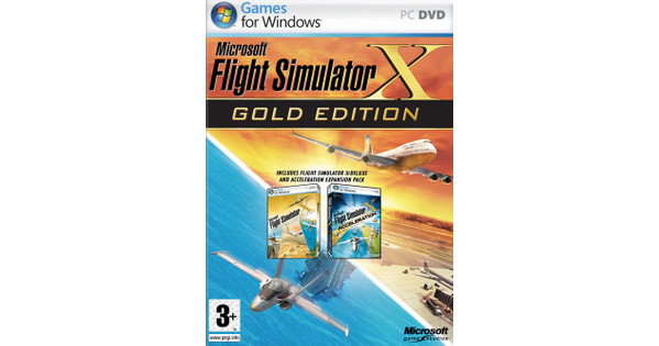 Flight Simulator X Gold PC
