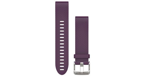 Garmin QuickFit 20mm Siliconen Polsband Paars
