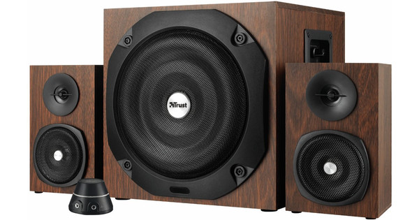 Trust Vigor 2.1 Speaker Set Brown