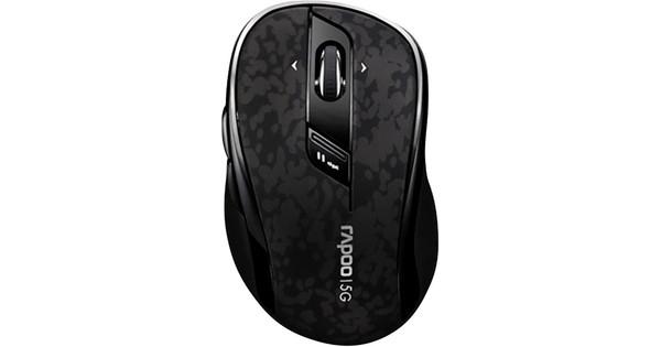 Rapoo 7100P Wireless Mouse Black