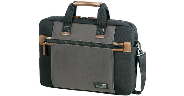"Samsonite Sideways Laptop Bag 15.6"" Black/Gray"