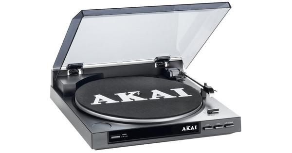 Onwijs Akai USB Platenspeler ATT01U - Coolblue - Voor 23.59u, morgen in huis AH-41