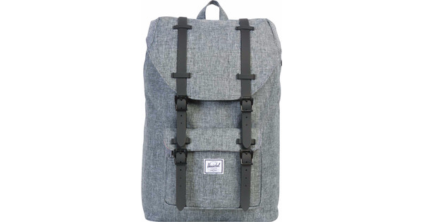 82745dc77c0 Herschel Little America Mid-Volume Raven Crosshatch   Black Rubber - Before  23 59