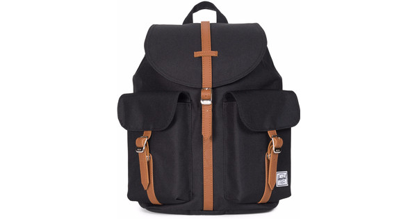 Herschel Dawson Womens Black/Tan Synthetic Leather