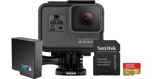 GoPro HERO 5 + Geheugenkaart + Accu