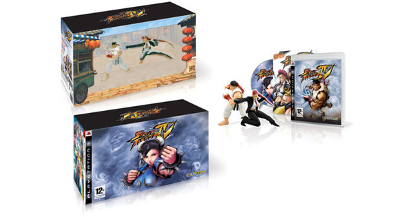Street Fighter IV PS3 Limited Edition