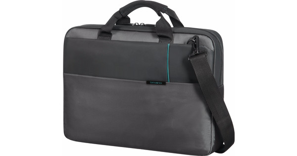 "Samsonite Qibyte Shoulder Bag 15.6"" Anthracite"