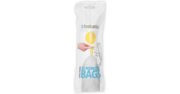 Brabantia Waste Bag Code A - 3 Liter (20 pieces)