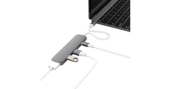 Hyper USB-C Adapter Kit met HDMI Grijs USB 3.1