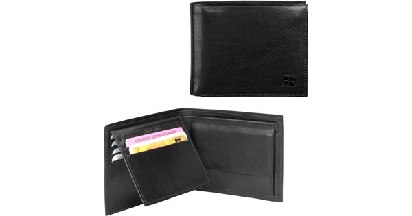 dR Amsterdam Canyon Billfold 2588 Black