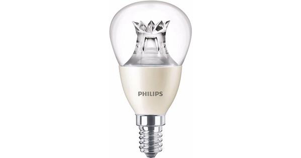 Philips LED-lamp 6W E14 Dimbaar (4x)