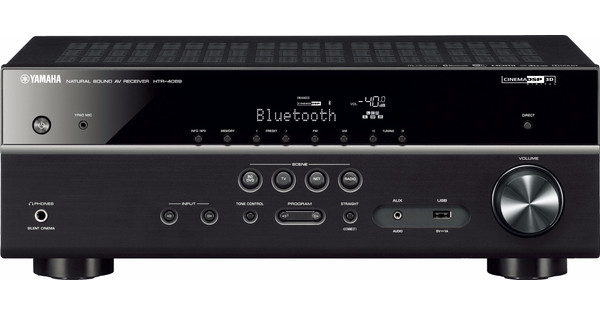 Yamaha HTR 4069 (RX V481) MusicCast Zwart