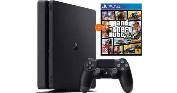 PS4 Slim 500GB +GTA V PS4