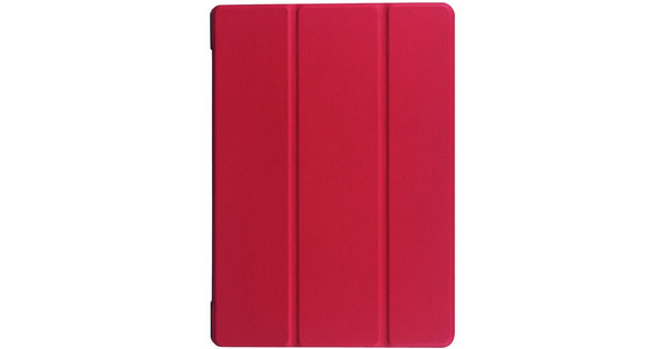 Just in Case Lenovo Tab 2 A10-30 Smart Tri-Fold Hoes Rood
