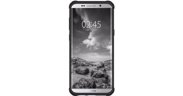 Spigen Rugged Armor Extra Samsung Galaxy S8 Back Cover Black